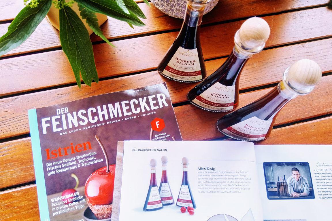 Feinschmecker-Magazin - Ausgabe 7-2021