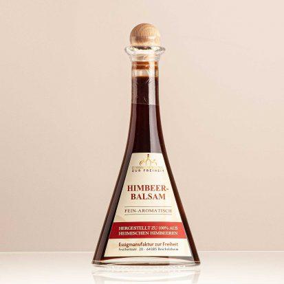 """Essigspezialität """"Himbeerbalsam"""" Flasche 0,1 L"""