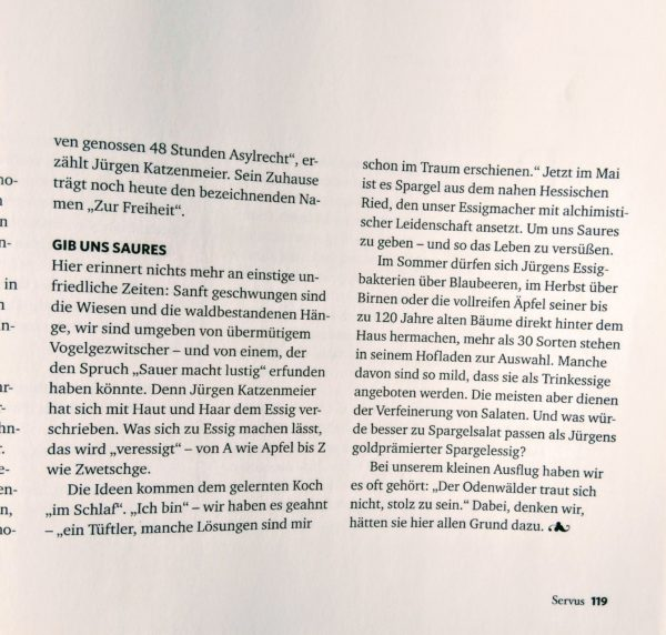Servux Magazin Beitrag 2 - meinDressing